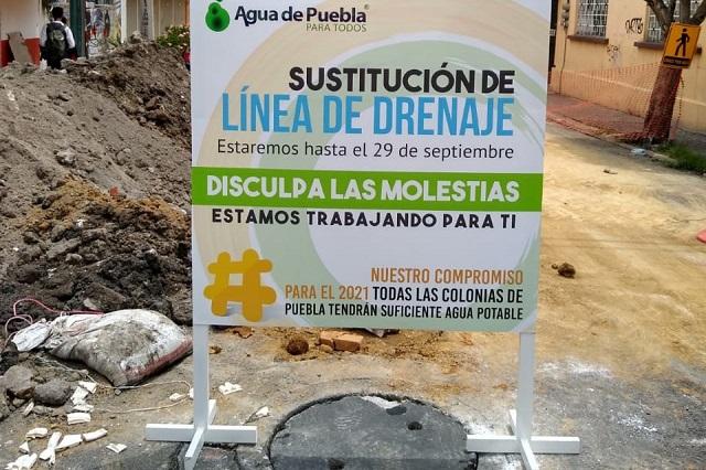 Descarta Agua de Puebla que le hayan cancelado obra en la capital