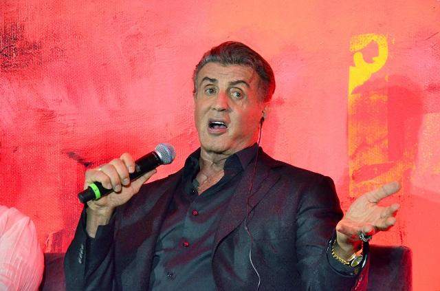 Sylvester Stallone llega a México para presentar Rambo: Last Blood