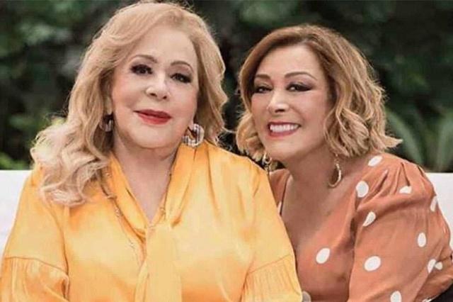 Critican a Sylvia Pasquel por viajar para ver a Silvia Pinal en plena cuarentena