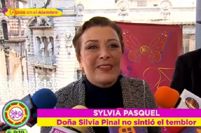 Sismo dañó la casa de Sylvia Pasquel en Acapulco