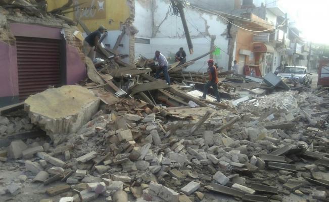 Aumenta a cinco la cifra de muertos en Tabasco por el sismo
