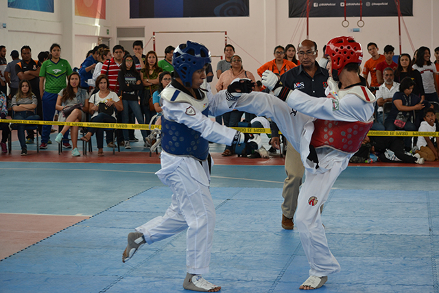 Taekwondo UPAEP consigue tres boletos a la Universiada Nacional