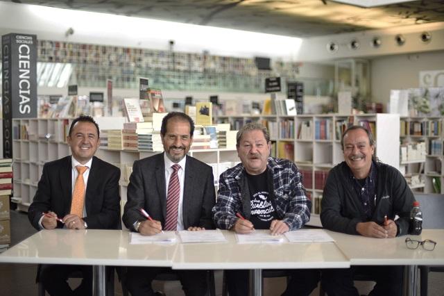 Instalarán librería del Fondo de Cultura Económica en Puebla