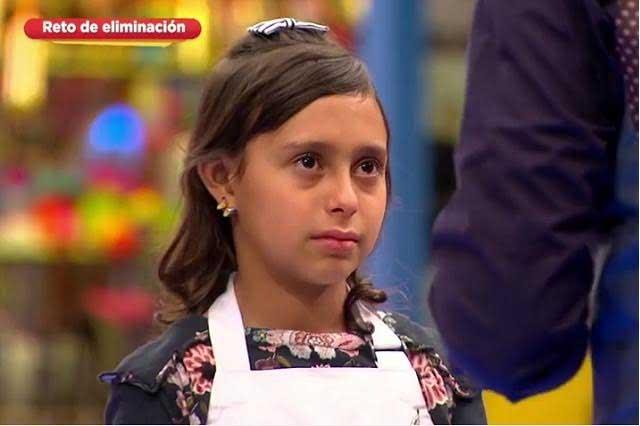 Taíz se va de MasterChef Junior y Benito le da emotiva despedida
