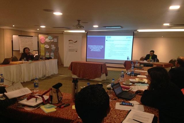 CDH Puebla participó en taller para  enfoque de perspectiva de género