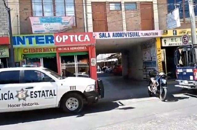 Hallan cadáver de hombre en un taller mecánico en Tehuacán