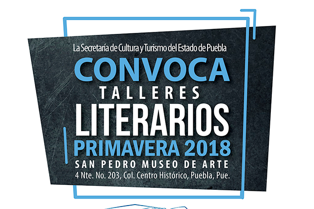 Abren convocatoria a talleres literarios de primavera 2018