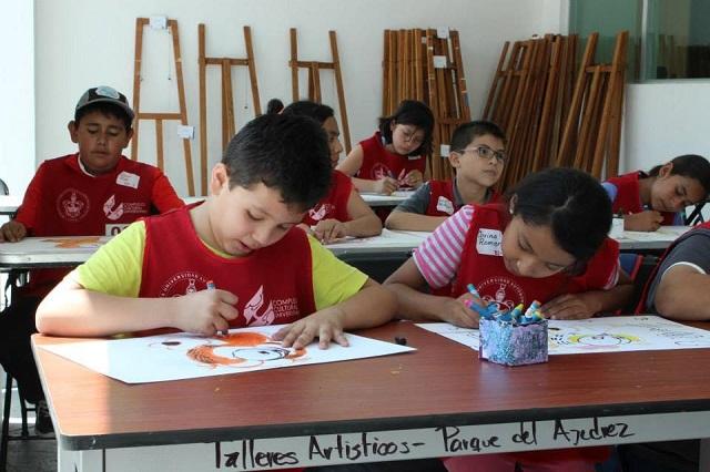 Oferta CCU BUAP talleres artísticos para menores y adultos