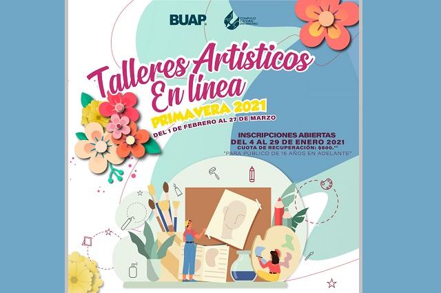 CCU BUAP abre talleres artísticos en línea para adolescentes y adultos