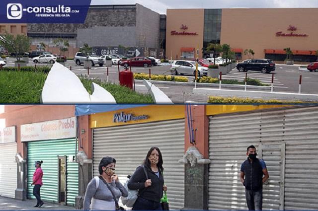 Se tambalea apertura comercial en Puebla para el 7 de agosto