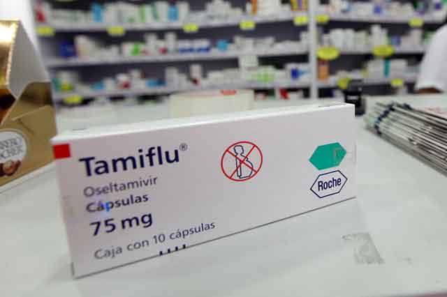 Se vence en marzo patente de Tamiflu y cualquier podrá producirlo