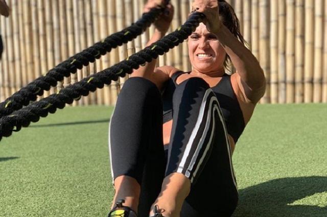 Tania Rincón presume cuerpazo gracias a su nueva vida fitness