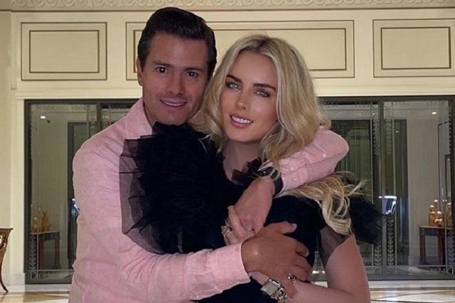 Reaparece Enrique Peña Nieto en su cumpleaños junto a su novia