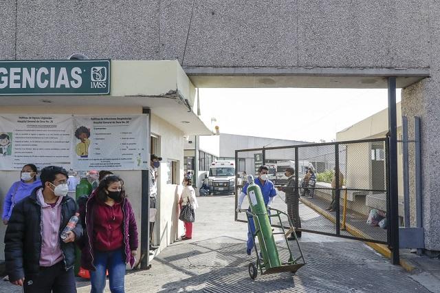 Ocupados al 80%, 7 hospitales poblanos con pacientes Covid