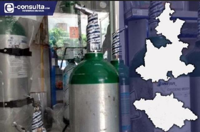 Se dispara 100% demanda de tanques de oxígeno en Puebla