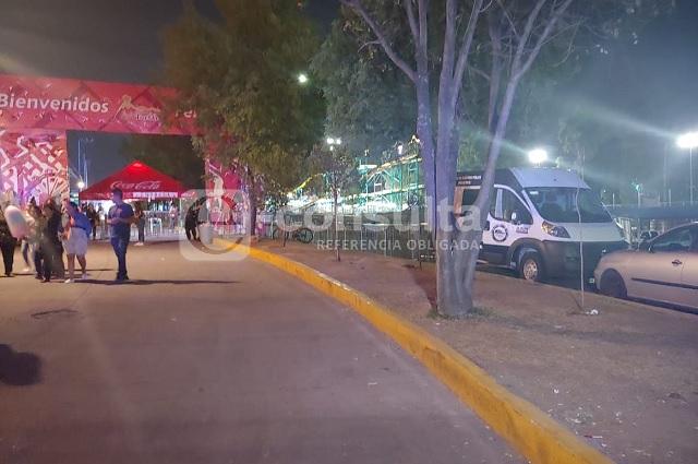 Roban más de un millón de la taquilla en la Feria de Puebla