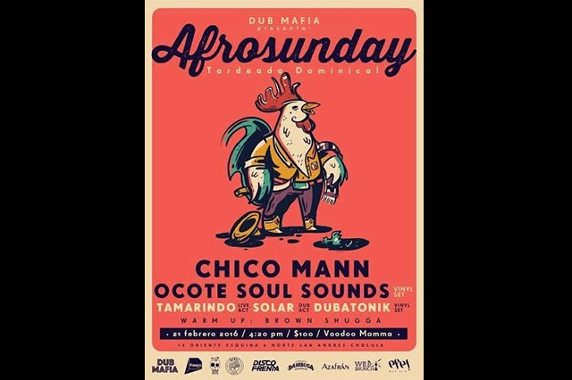 ¡A bailar con Chico Mann y Ocote Soul Sounds!