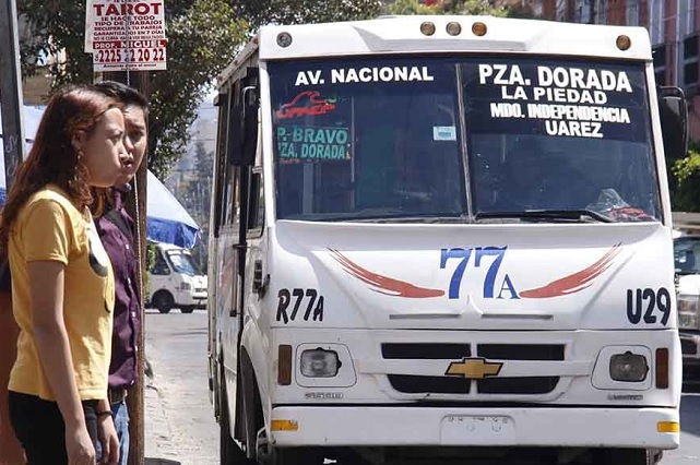 Tarifa del transporte estará lista el próximo jueves, dice Barbosa