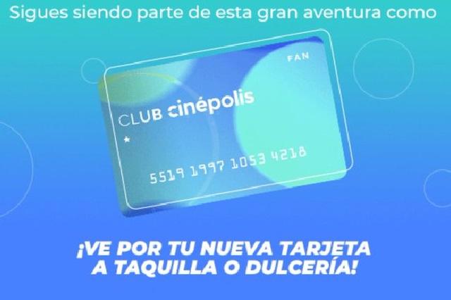 ¿Tiene costo el cambio de tarjeta de Club Cinépolis y es necesario el canje?