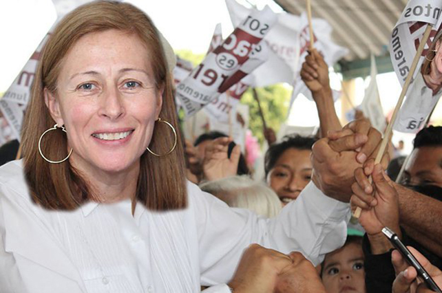 Tatiana Clouthier califica a Vicente Fox de vocero de la desgracia