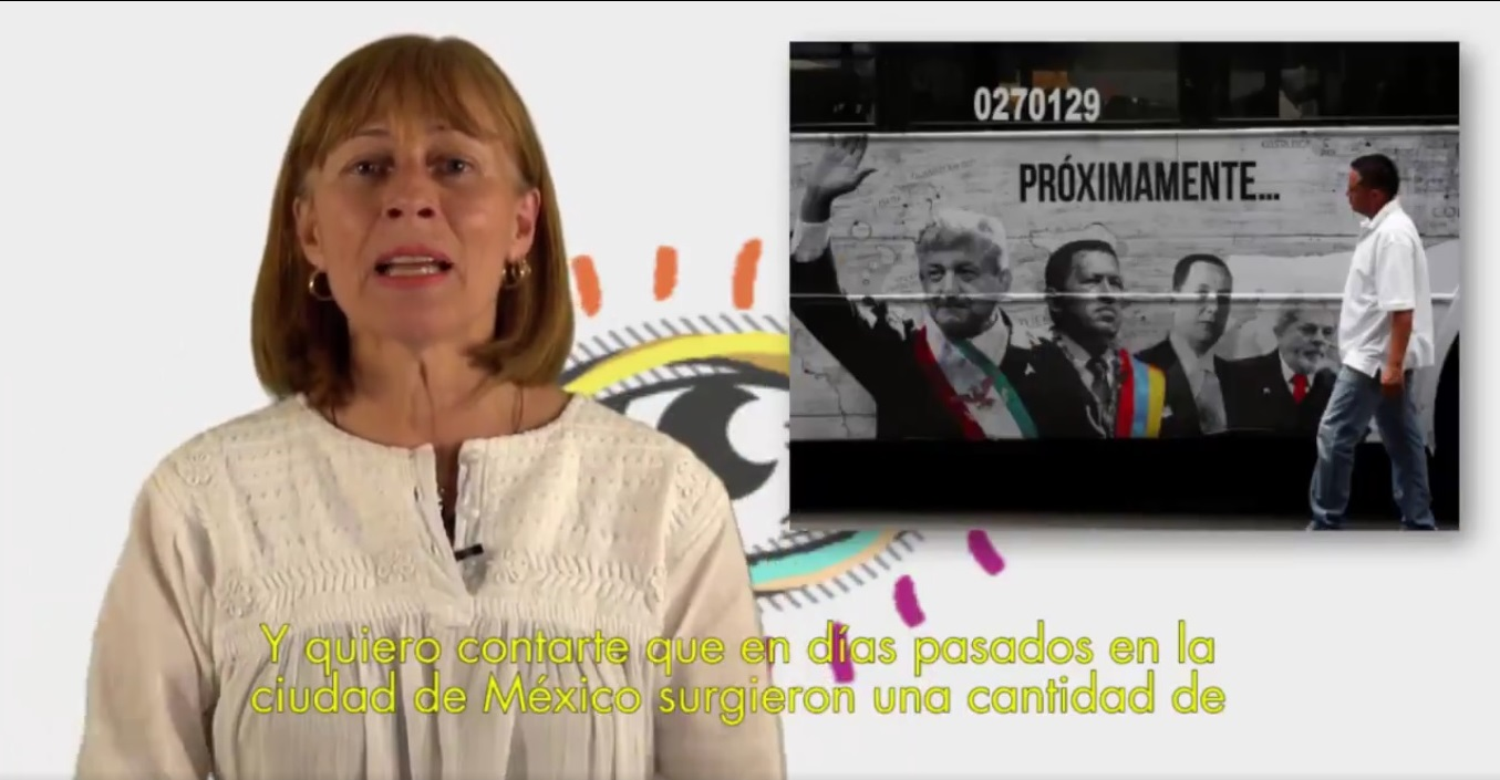 Tatiana invita 'palomitas' en presentación conjunta de documental contra 'El Peje'