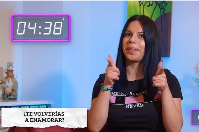Esta es la cara de Lizbeth Rodríguez cuando oye el nombre de Tavo, su ex
