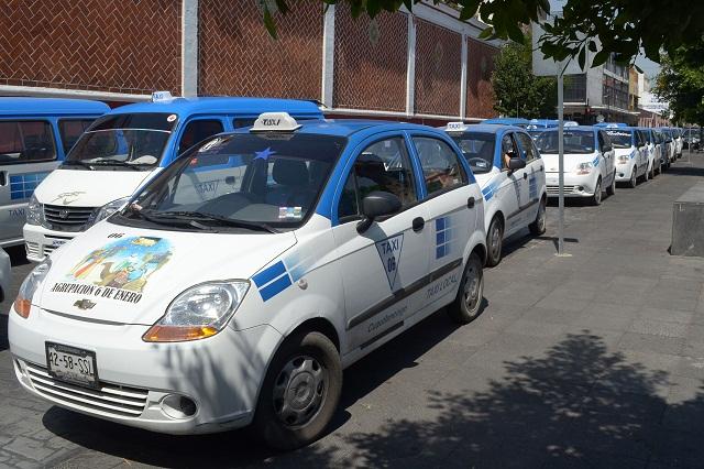 Expiden más de mil permisos a taxis sustitutos de mototaxis