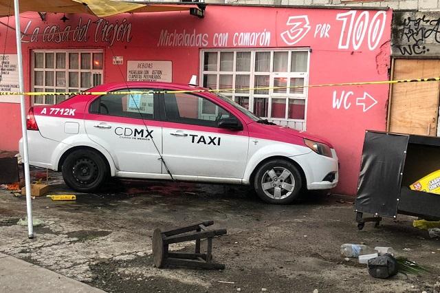 Taxista de CDMX muere en Puebla por un infarto