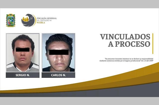 Presos por secuestro exprés y violación, en Puebla