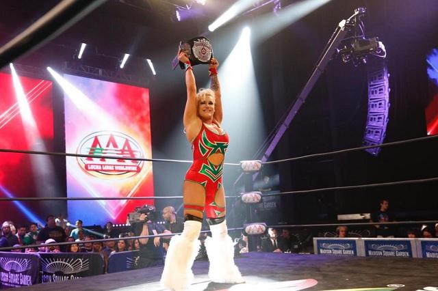 Taya Valkyrie se despide de AAA para arribar a la WWE