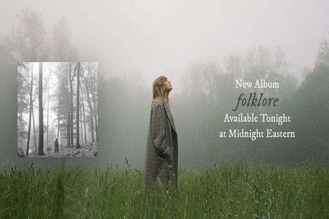 Taylor Swift lanzará su nuevo disco esta media noche