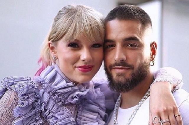 Fans de Taylor Swift le suplican que no haga dueto con Maluma
