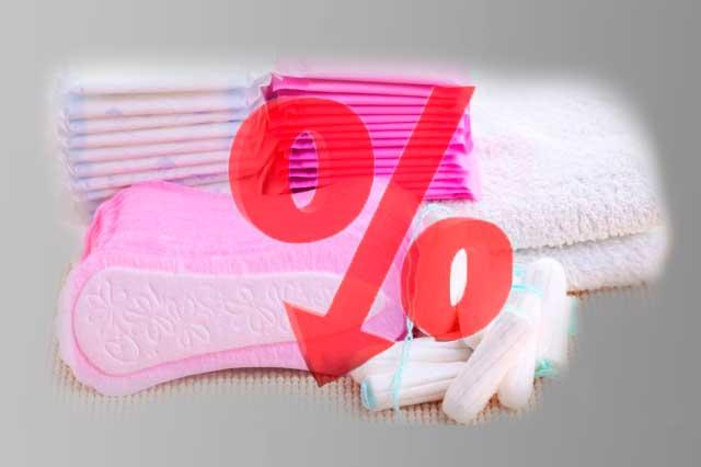 Hacienda propone eliminar IVA a productos para menstruación