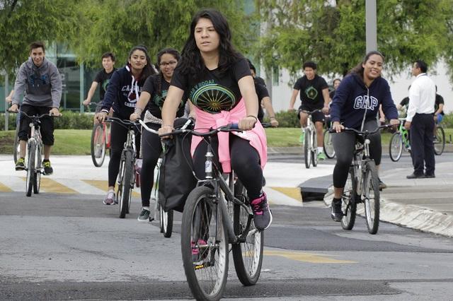 Llaman ciclistas a rodar para exigir atención al medio ambiente