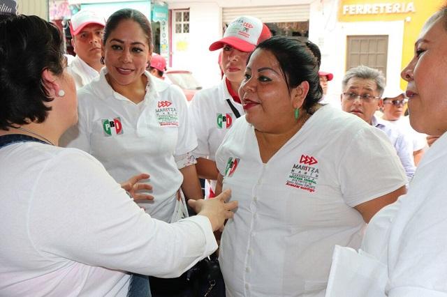 Ofrece Marín gestión para seguridad y el campo en Tecamachalco
