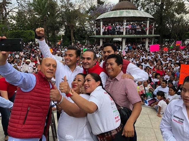 Desde Cámara de Diputados se apoyará a Tecamachalco: Marín
