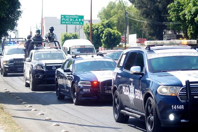 Delito en municipios vecinos pega a Tecamachalco: Barbosa