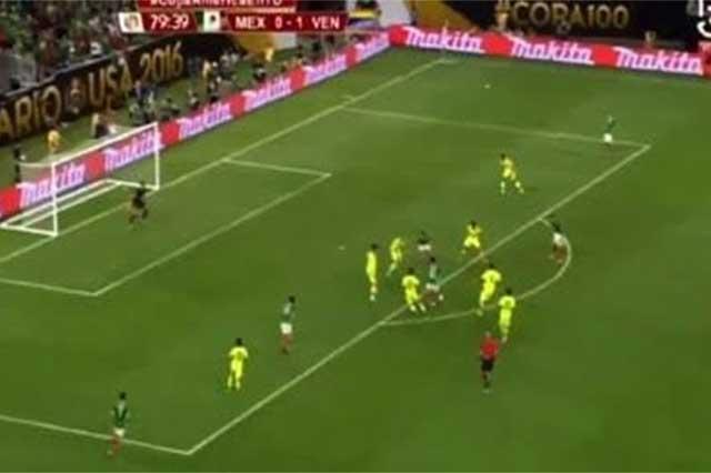 Revive el gol al estilo Messi del Tecatito Corona ante Venezuela