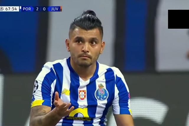 Tecatito se convirtió en el primer mexicano que derrota a Cristiano en Champions