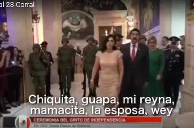 Mamacita, dicen técnicos de tv a esposa de Javier Corral