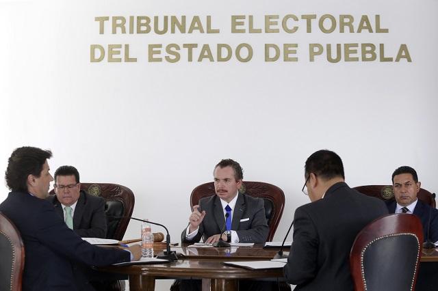 Multa TEEP con 403 mil pesos a Compromiso por Puebla