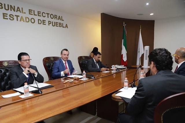 TEEP deja firme medida cautelar del IEE contra expresiones de Barbosa