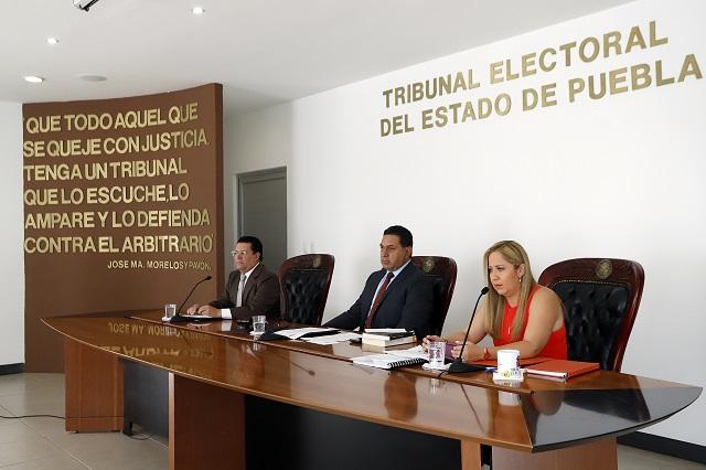 Suspenso en plebiscitos de tres Juntas por juicio ante el TEEP