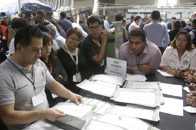 Recuentan votos de Atlixco y envían nuevo cómputo al TEPJF
