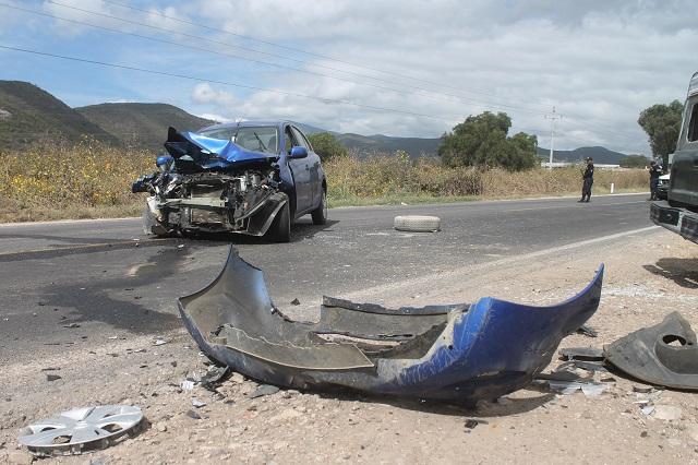 Aumentan 8 % accidentes de auto en Puebla durante diciembre: IMSS