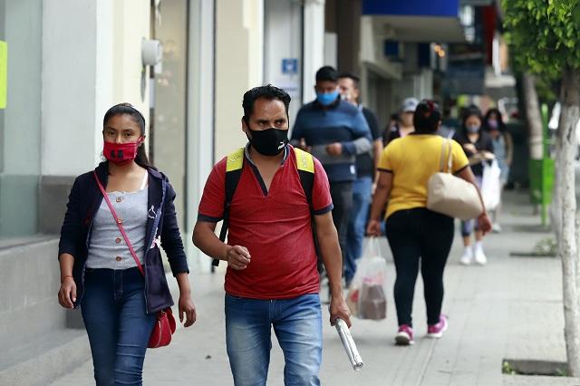 Repunte de contagios Covid aleja semáforo naranja en Puebla