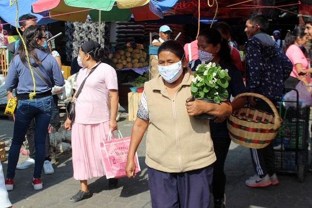 Llega Puebla a 66 muertes por Covid; hubo 18 el fin de semana