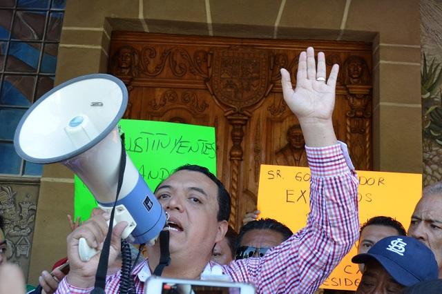 Congreso revive revocación de Patjane y va por nuevo alcalde