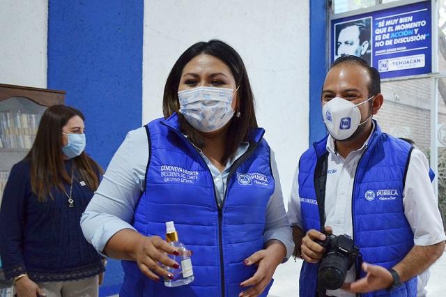 Va Genoveva Huerta tras diputación federal plurinominal