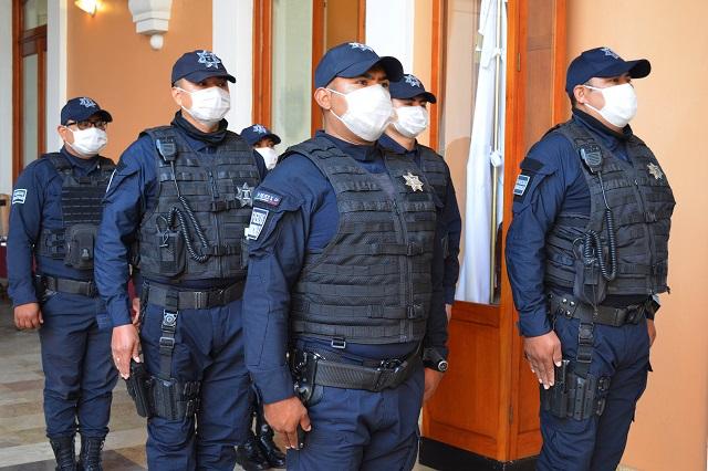 Puebla, el cuarto estado con más policías con coronavirus